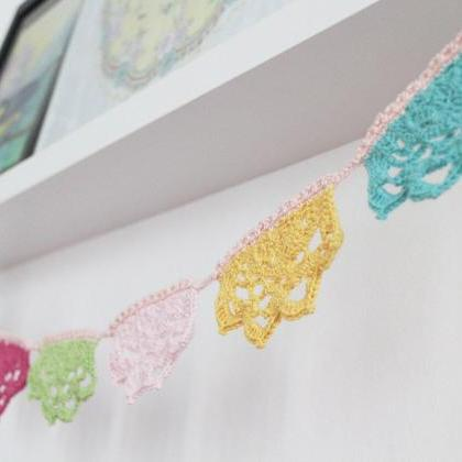 Dreamy Garland,Crochet Pattern DIY,..
