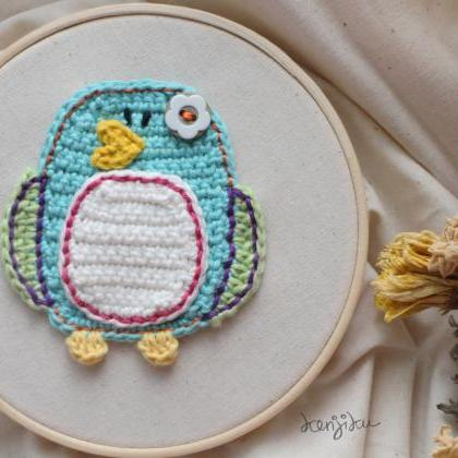 Little Penguin Crochet Pattern,DIY,..