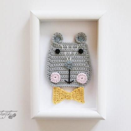 Kuma the Bear Crochet Pattern, Bear..