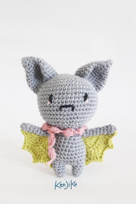 Mini Bat Amigurumi Pattern, Bat Amigurumi Pattern, Bat Crochet