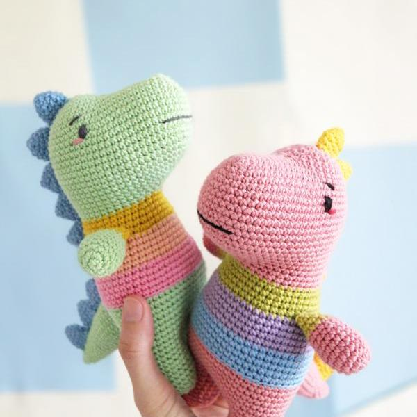 Pido Dinogal The Dinosaur Amigurumi Pattern